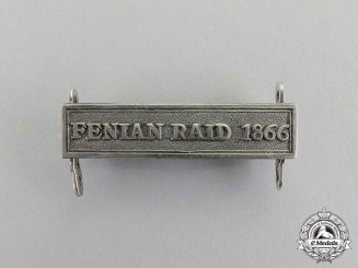 Great Britain. A Clasp for the Canadian General Service Medal 1866-1870