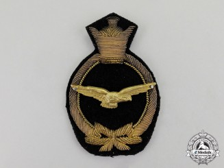 Iran, Pahlavi Kingdom. An Imperial Air Force (IIAF) Officer's Cap Badge
