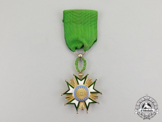 Iran, Pahlavi Kingdom. An Order of the Crown of Iran (Nishan-i-Taj-i-Iran), 5th Class, Officer