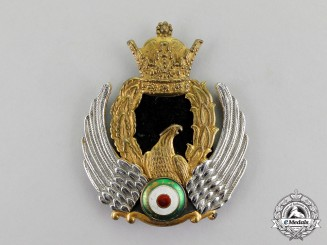 Iran, Pahlavi Kingdom. Ann Imperial Air Force (IIAF) Cap Badge