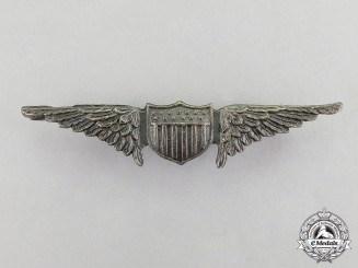 United States. An Army Air Service Aviator Badge, c.1925