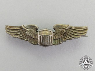 United States. A Set of Pilot Wings, Reduced Size, c.1943