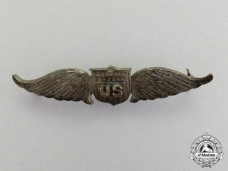 United States. An Army Air Service Pilot Badge, c.1917