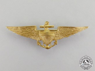 United States. A (USN) Naval Aviator Badge