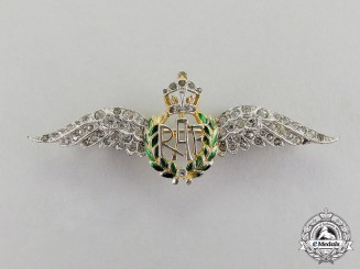 Great Britain. A Royal Air Force (RAF) Sweetheart Badge