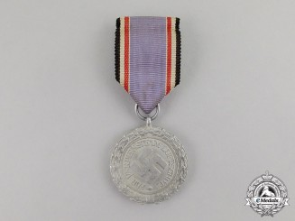 "Germany. An Air Raid Defence ""Luftschutz"" Medal; Second Class; Light Version"