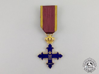Romania, Kingdom. An Order of St. Michael the Brave in Gold, III Class, c.1941