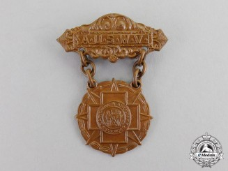 United States. A Spanish American War Veterans National Auxiliary Badge