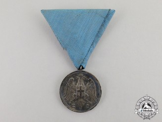 Serbia, Kingdom. Medal for Zeal 1913