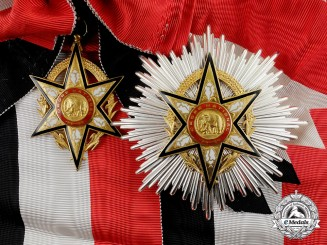 France, Colonial. A Burkina Faso National Order, Grand Cross Set by Arthus Bertrand