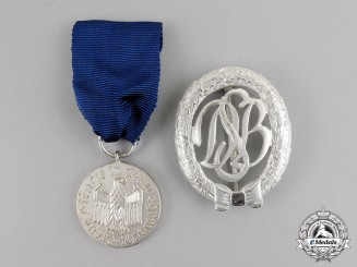 Germany. Two 1957 Version Medals and Awards