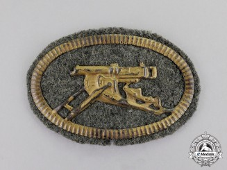 Germany. A First War German Machine Gunner Crew Sleeve Patch