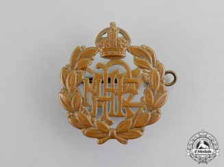 New Zealand. A Royal New Zealand Air Force (RNZAF) Cap Badge