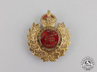 Canada. A Toronto Active Service Canteen Volunteer Worker's Badge 1939-1945