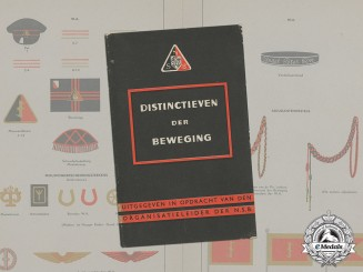 Germany. A Dutch NSB Official Insignia Booklet