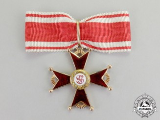 Russia, Imperial. An Order of St. Stanislaus in Gold, 4th Class Knight, c.1910