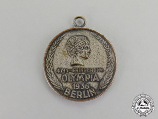 Germany. A 1936 XI Berlin Summer Olympic Games Cologne 4711 Medal