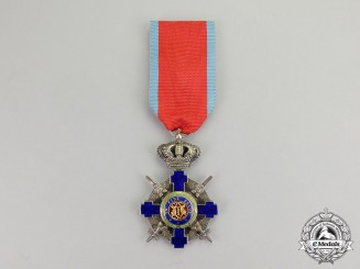Romania, Kingdom. An Order of the Star, Knight, Type II (1932-1947)