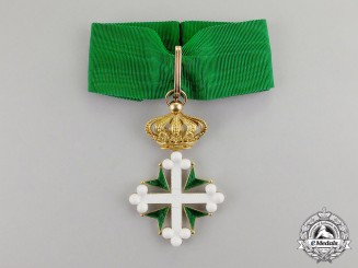 Italy, Kingdom. An Order of St. Maurice and St. Lazarus in Gold, 1st Class Commander