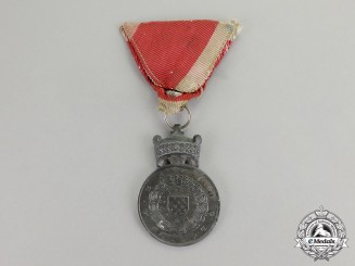 Croatia. A Merit Medal of King Zvonimir. c.1943