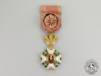 Belgium. An Order of Leopold in Gold, Officer, c.1900-1918