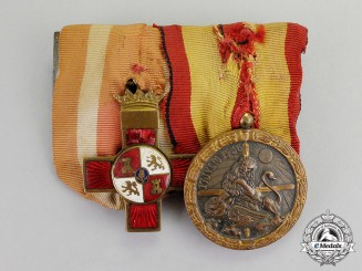 Spain. A Civil War Campaign Medal Pair