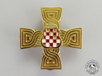 Croatia. A War Memorial Cross 1992-1995
