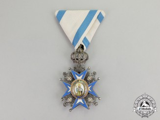 Serbia. An Order of St. Sava, Knight, 5th Class, 2nd Model, 2nd Pattern (1921-1941)