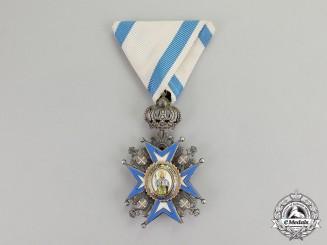 Serbia. An Order of St. Sava, Knight, 5th Class, 2nd Model, 2nd Pattern (1921-1941)