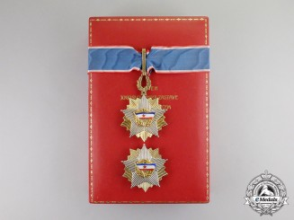 Yugoslavia, Republic. An Order of the Yugoslav Flag with Golden Wreath
