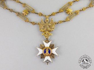 Vatican. A Livery Chain of the Order of Saint Sylvester and the Golden Militia, Type II, c.1895