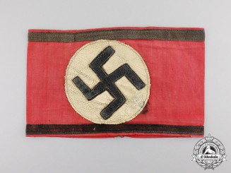 Germany. An SS Armband, Leibstandarte SS Adolf Hitler (LSSAH) Members
