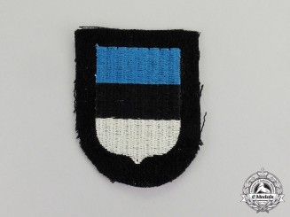Germany. A Mint and Unissued Waffen-SS Estonia Volunteer Sleeve Shield