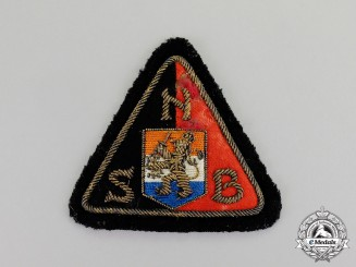 Netherlands. A Mint and Unissued Dutch NSB Officer's Sleeve Patch