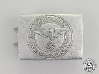"Germany. A National Railway Police ""Bahnpolizei"" Belt Buckle"