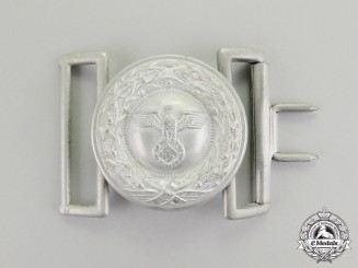 Germany. A Justice Official's Standard Issue Belt Buckle; Type II Dated 1937