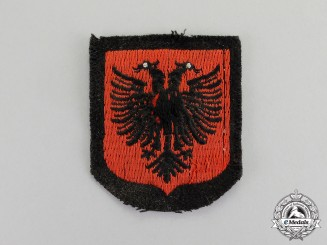 Germany. A Waffen-SS Albanian Volunteer Sleeve Shield