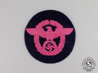 Germany. A Third Reich Period Fire Police Sleeve Patch