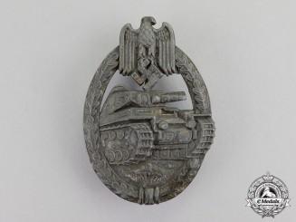 Germany. A Bronze Grade Tank Badge; Rare Seven Wheel Variant