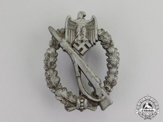 Germany. A Bronze Grade Infantry Assault Badge, by Carl Wurster