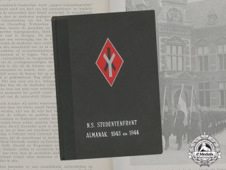 "Germany. A Wartime Dutch NSB ""Student Front"" Almanac"