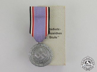 "Germany. A Mint Air Raid Defence ""Luftschutz"" Medal; Second Class; Heavy Version"