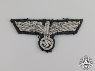 Germany. A Wehrmacht Heer (Army) Officer's Breast Eagle; Uniform Removed