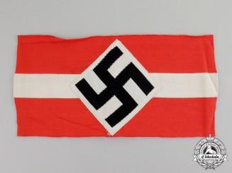 Germany. A HJ Member's Armband; RZM-HJ Tagged