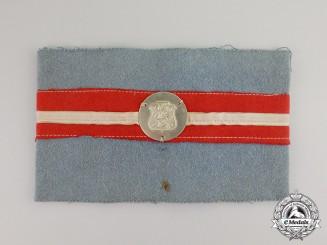 Denmark. A Danish Resistance (Modstandsbevægelsen) Member's Armband