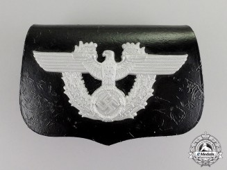 Germany. A Police NCO's Belt Pouch