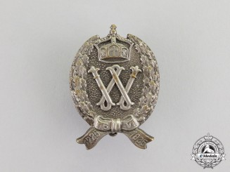 Germany. A First War Period Prussian Patriotic Regimental Badge