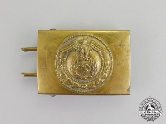Germany. An NSDAP Jugend Belt Buckle