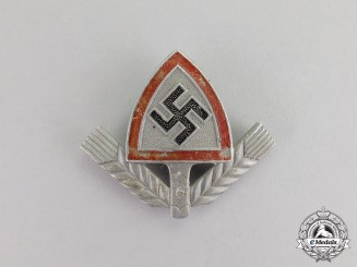Germany. An RAD (National Labour Service) Cap Badge