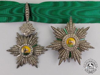 Iran, Pahlavi Empire. An Order of the Lion and the Sun, III Class Commander